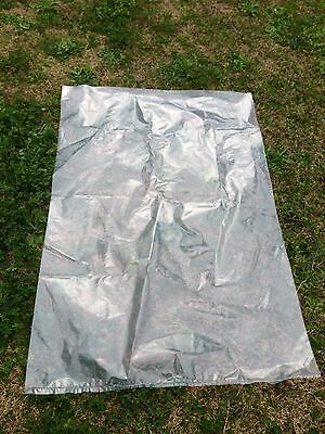 15 Extra Large Plastic Bags Covers  990x1400mm Suitable for wood chips