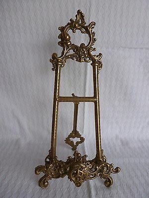 Solid Brass Plate / Picture / Photo Stand