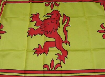 Lion Rampant - Large Scotland Flag - New Supporters Flag 3'x2' - Tartan Army