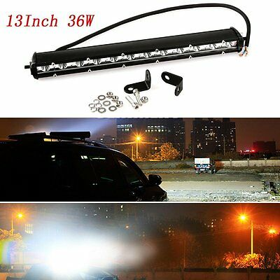 13inch 36W COMBO LED Work Light Bar Offroad Driving Lamp SUV Car Boat 4WD Truck