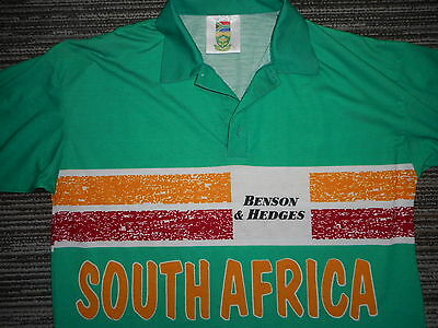 Rare Vintage South Africa Odi Cricket Shirt Mens S