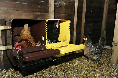 Poultry/chicken Plastic Nest Box  (New) Brown