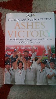 Ashes Victory 2005 Cricket Hard Back Book