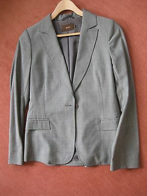Grey Skirt Suit by Reiss, Jacket size 8, Skirt size 10