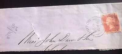 Great  Britain,early  Used  Victorian Cover..dated 1864  Plate  83