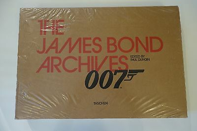007 - the James Bond Archives By Paul Duncan. First Press with Dr.No film strip!