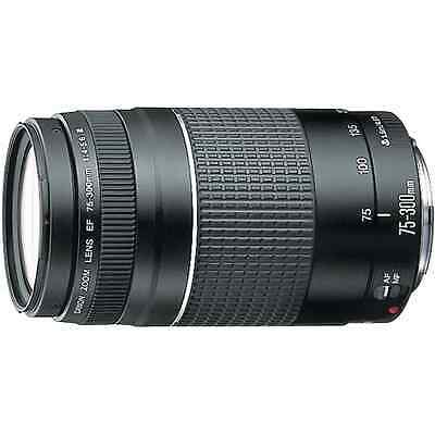 Canon EF 75-300mm F4-5.6 III Telephoto Zoom Lens