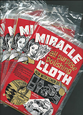 The Famous Miracle All Purpose Polishing Cloth, Pack Of Four