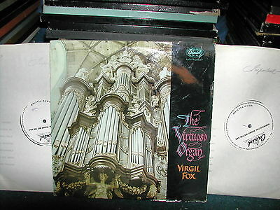 SP 8499 The virtuoso organ Virgil Fox LP 1960 Stereo 2 x 1 sided test pressing