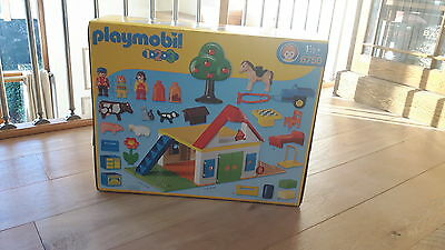 Brand new in unopened box playmobil large farm