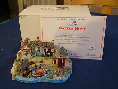 "RNLI Collection Danbury Mint  - Jane Hart ""Safely Home"" Boxed with Certificate"