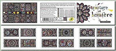 france 2016 booklet art stained glass cathedrale church Glasmalerei vidrieras 12