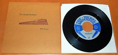 """The Dickel Brothers - Bill Mason - 2000 US Numbered 7"""" Single"""