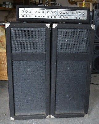 Carlsbro PA Amp and 2  Disco / PA Speakers