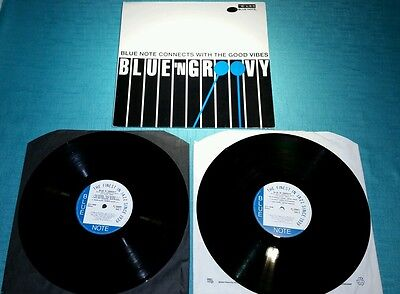 Blue Note Connects - Blue N Groovy LP X 2 BLUE NOTE JAZZ COMPILATION EX+/EX+/EX