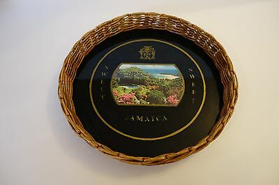 """Vintage Retro """"jamaica Sweets"""" Drinks Serving Tray"""