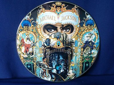 Michael Jackson DANGEROUS Official PROMO Picture Disc LP Brazil NO GROOVE 25