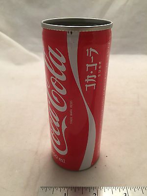 1980's Coca-Cola Coke 250ml Japanese Japan Katakana Can Pen Pencil Holder