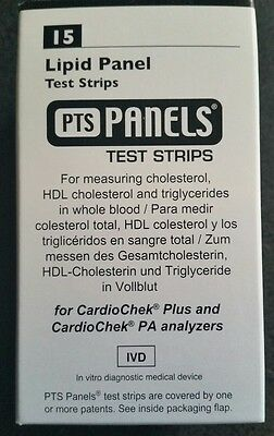 PTS Panels Lipid Test Strips (Cholesterol, HDL Cholesterol and Triglycerides)
