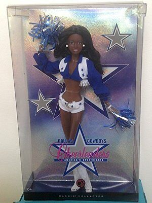 Nrfb! 2007 Pink Label Rare African American Dallas Cowboy Cheerleader Barbie