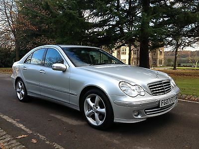 Mercedes C220 Cdi Avantgarde Se Automatic 2007/07 *no Reserve* Only 2 Owners*