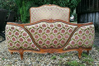 Lovely Conditon Vintage French Demi Corbeille Double Bed UK Double size.