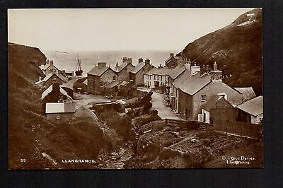 Llangranog - real photographic postcard