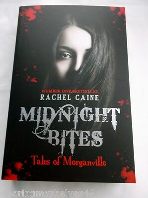Midnight Bites Tales of Morganville Rachel CAINE Signed 1st Young Adult Fiction