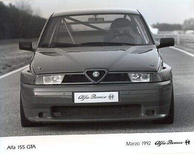 Alfa Romeo 155 GTA 1992 original press photo - 3