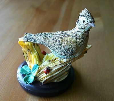 The Country Bird Collection - The Lark Figurine/Ornament