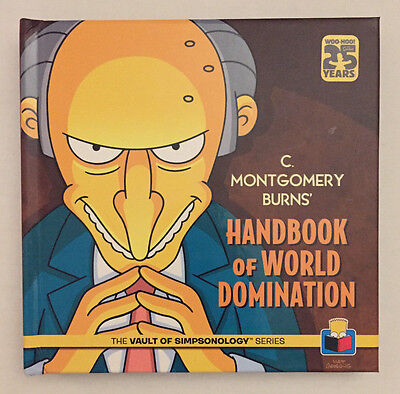 Simpsons Handbook of World Domination from the Vault of Simpsonology Book