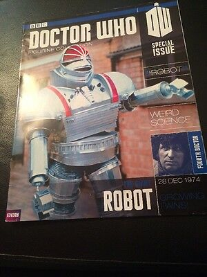 Dr Who Figurine Collection Special Issue Robot Magazine Only Doctor Who