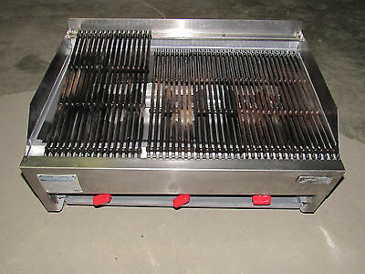 "Rankin-Delux 3223C Commercial Natural Gas 32"" Grill Table Top (We Ship Freight)"