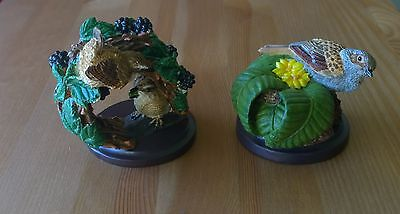 The Country Bird Collection - The Wren & The Dunnock Figurine/Ornament