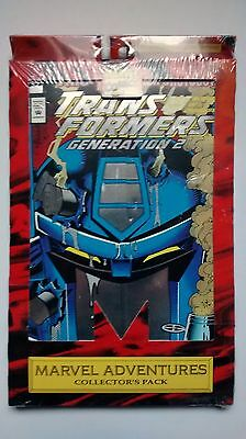 Transformers Comic Book Marvel Adventures Collector's Pack & G1 Cartoon Stickers