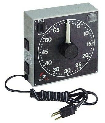 "GraLab Model 300,  60 Minute Photography and Darkroom Timer, 7-1/2"" Length x"