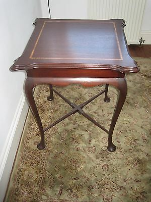 lamp table/french polished