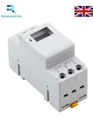 New DIN Rail Weekly Programmable Digital Timer Switch Relay 12V/24V/240V 16A