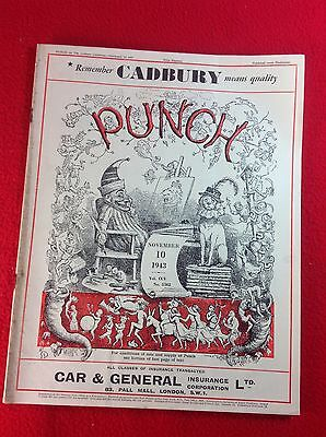 Vintage : PUNCH Magazine : 10th November 1943