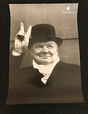 Apple Think Different Campaign Poster Winston Churchill