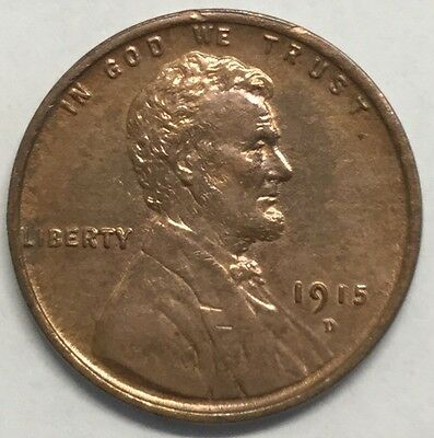 1915-D 1C Lincoln Wheat Cent