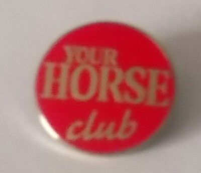 Enamel Badge - YOUR HORSE CLUB