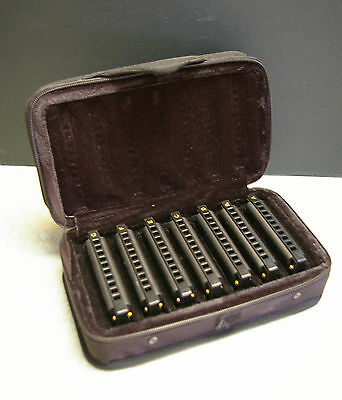 Hohner Piedmont Blues Harmonica Set With Case