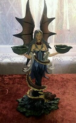 Large Nemesis Now statue fairy and dragon