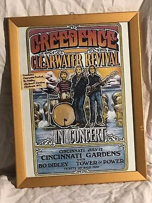 Locandina Concerti Creedence Clearwater Revival Plus Bo Diddley 1971