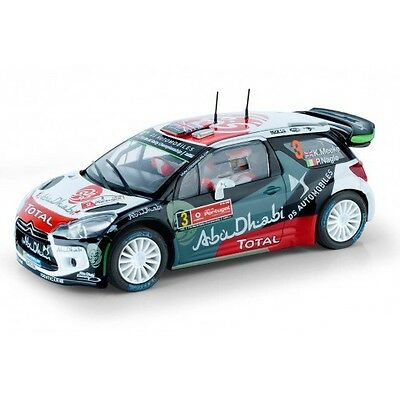 Scalextric Citröen DS3 WRC Abu Dhabi Rally Portugal 2015 A10217X300 1/32 scale