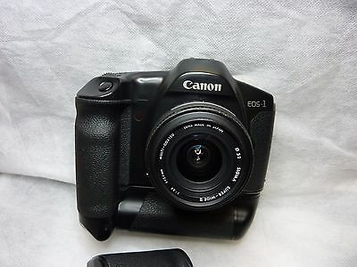 CANON EOS -1 and 24mm film camera
