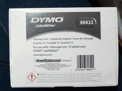 DYMO LabelWriter 60622 Cleaning Card for Dymo Label Printers NEW, UK Seller
