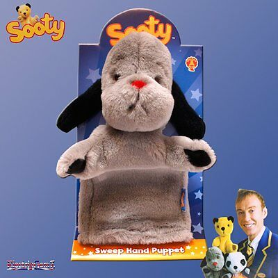 The Sooty Show Official Sweep Plush Soft Cuddly Toy Hand Puppet