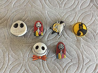 Nightmare Before Christmas Shoe Charms Sally & Jack Skellington Oogie Boogie